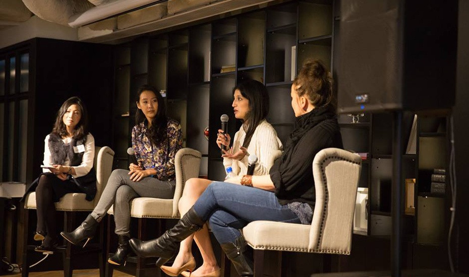 Female Entrepreneurs Worldwide panel discussion (photo c/o Facebook | @FemaleEntrepreneursWorldwide)